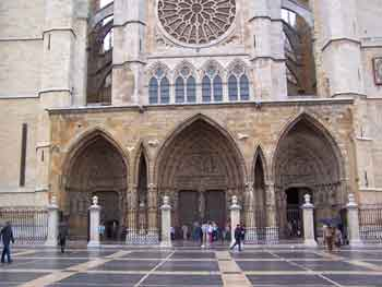 Main Cathedral entrance
