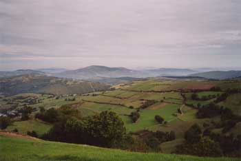 View from the Camino