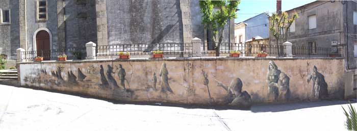 Mural-Church Santa Marina